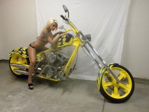 Custom one off Engine and Bike
